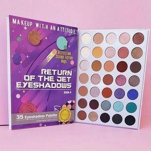 Rude Cosmetics Return Of The Jet Eyeshadow Palette